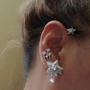 Jewelry - SILVERTONE EAR CUFF - Left EAR